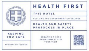 The Golden Beach Hotel in Paros follows the official government guidelines for health and safety.