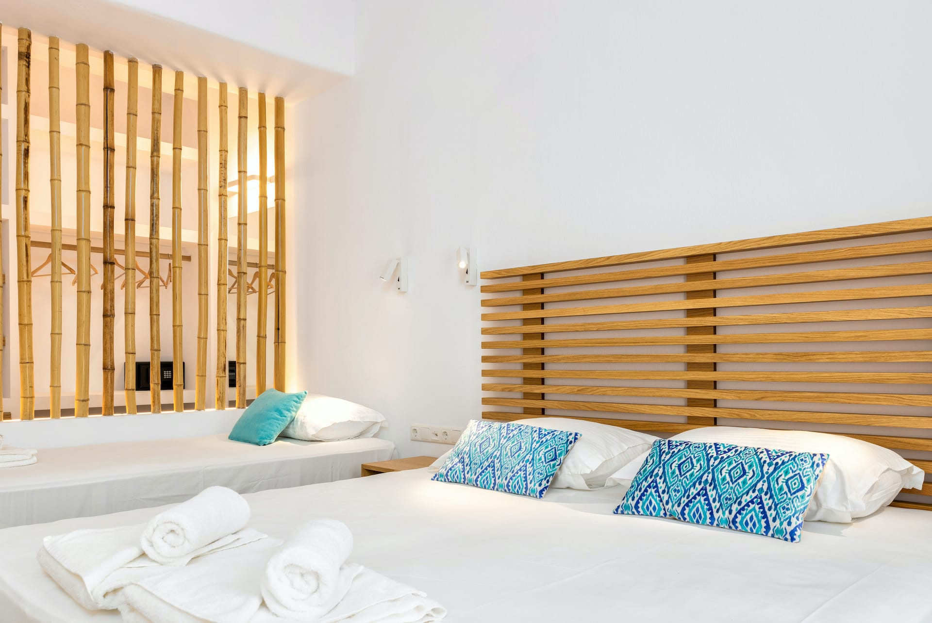 Family apartment for 6 persons in Paros