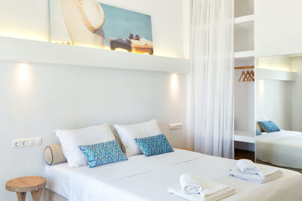 Golden Beach Hotel Superior side sea view apartment in Paros